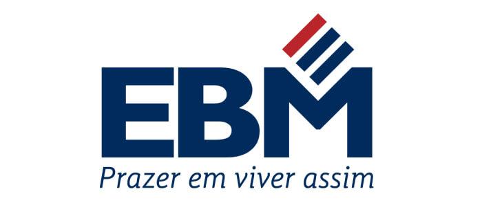 Logo da construtora EBM Desenvolvimento imobiliário