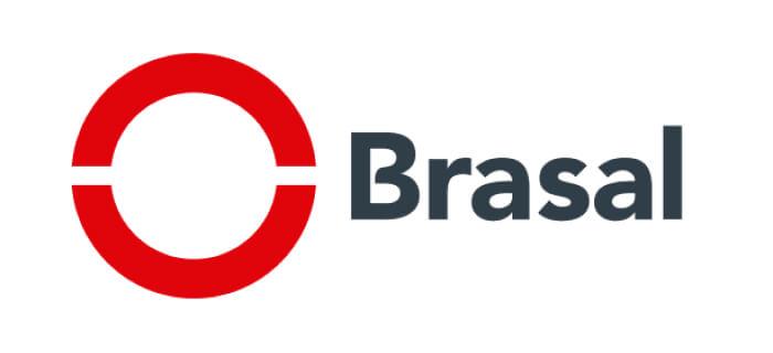 Logo da Brasal Incorporadora, empreendimentos em Goiânia