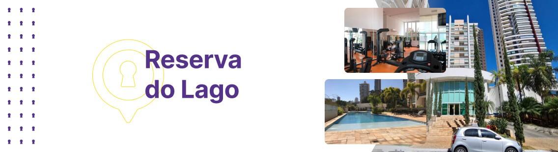 Apartamento à venda em Goiânia no Reserva do Lago - Fachada (Capa Desktop)