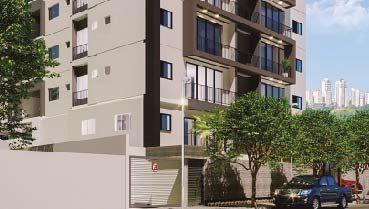 Apartamento à venda em Goiânia no Vila Rosa - Empreendimento Reserva do Parque da Construtora Martins Soares - Fachada