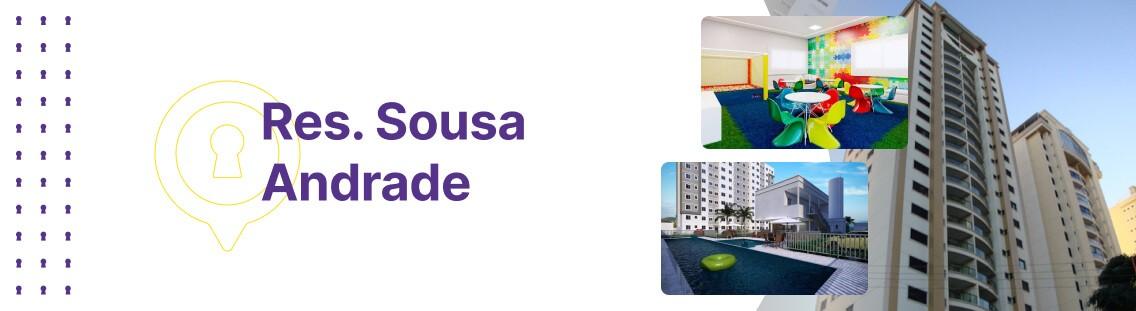 Apartamento à venda em Goiânia no Residencial Sousa Andrade - Fachada (Capa Desktop)
