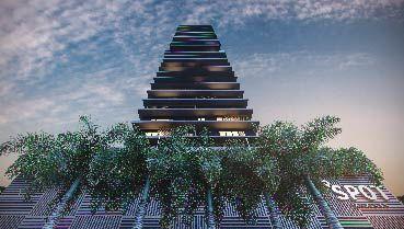 Apartamento à venda em Goiânia no Setor Marista - Empreendimento Spot Marista da Construtora City - Fachada