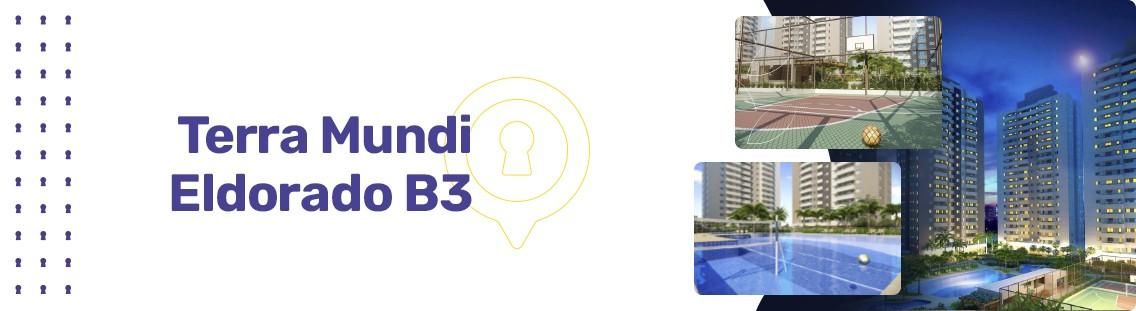 Apartamento à venda em Goiânia no Residencial Granville - Empreendimento Terra Mundi Eldorado - B3 da Construtora New Inc - Fachada