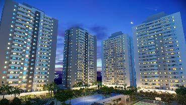 Apartamento à venda em Goiânia no Residencial Granville - Empreendimento Terra Mundi Eldorado - B1 da Construtora New Inc - Fachada