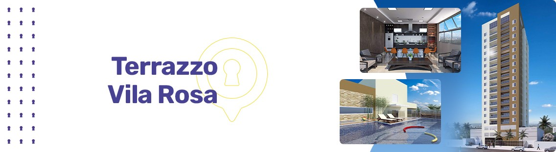Apartamento à venda em Goiânia no Vila Rosa - Empreendimento Terrazzo Vila Rosa da Construtora Attiva - Fachada