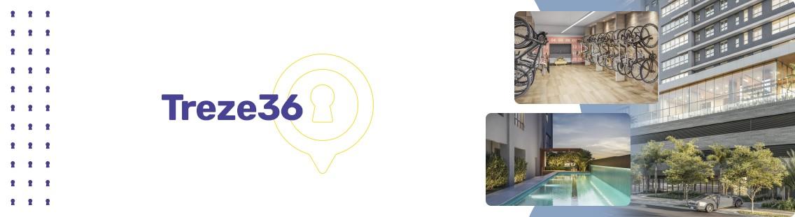 Apartamento à venda em Goiânia no Setor Marista - Empreendimento Treze36 da Construtora Terral - Fachada