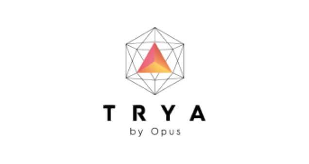 Logo do edifício Trya by Opus, da construtora Opus