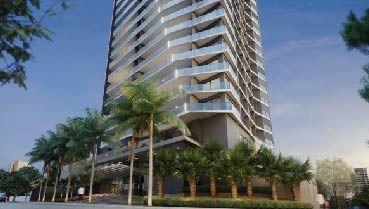 Apartamento à venda em Goiânia no Setor Bueno - Empreendimento Trya da Construtora Opus - Fachada