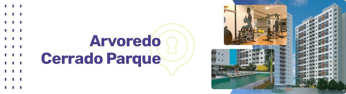 Apartamento à venda em Goiânia no Rodoviário - Empreendimento Arvoredo Cerrado Parque da Construtora FR Incorporadora - Fachada