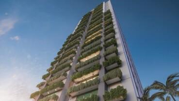 Apartamento à venda em Goiânia no Setor Marista - Empreendimento EKO da Construtora EBM - Fachada