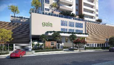 Apartamento à venda em Goiânia no Setor Bueno - Empreendimento Gaia Consciente Home da Construtora Consciente - Fachada