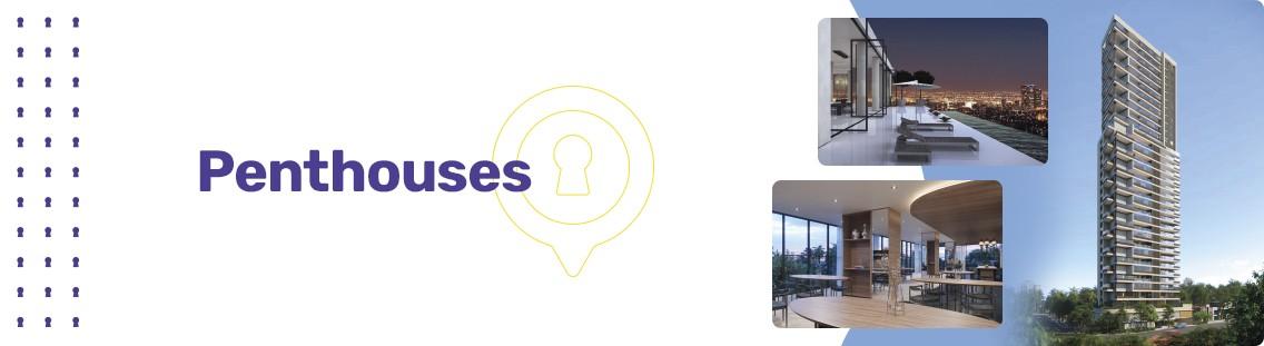 Apartamento à venda em Goiânia no Setor Marista - Empreendimento Penthouses da Construtora Opus - Fachada