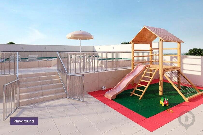 Playground do Raízes Parque Cascavel