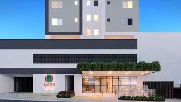 Apartamento à venda em Goiânia no Vila Rosa - Empreendimento Raízes Parque Cascavel da Construtora CMO - Fachada