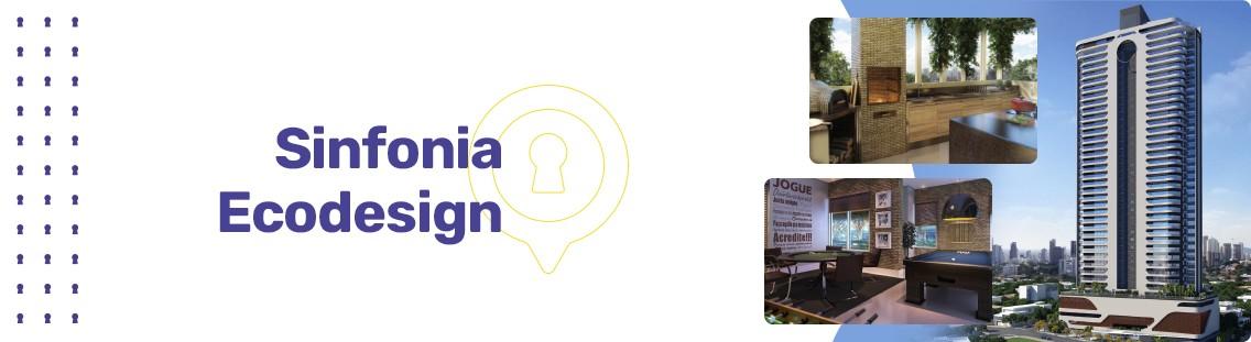 Apartamento à venda em Goiânia no Setor Marista - Empreendimento Sinfonia Ecodesign da Construtora Loft - Fachada