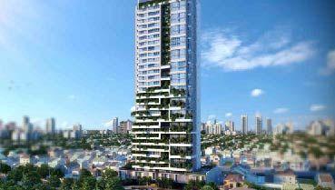 Apartamento à venda em Goiânia no Setor Marista - Empreendimento Verti da Construtora Opus - Fachada