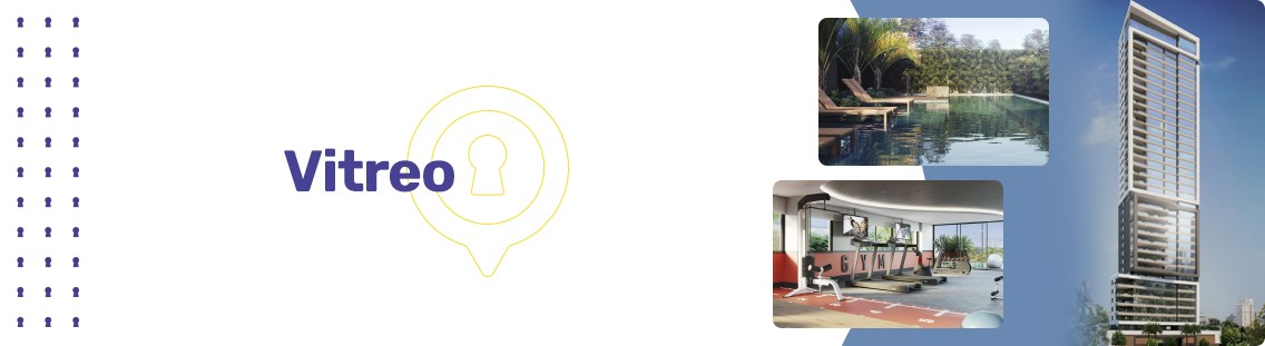Apartamento à venda em Goiânia no Setor Marista - Empreendimento Vítreo da Construtora Opus - Fachada