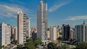 Apartamento à venda em Goiânia no Setor Oeste - Empreendimento Van Gogh Praça do Sol da Construtora Sousa Andrade - Fachada