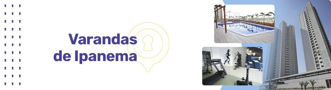 Apartamento à venda em Goiânia no Jardim Atlântico - Empreendimento Varandas de Ipanema da Construtora CMO - Fachada
