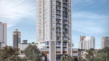 Apartamento à venda em Goiânia no Setor Oeste - Empreendimento 360 Oeste da Construtora EBM - Fachada