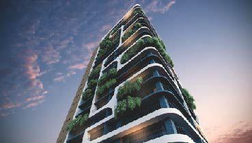 Apartamento à venda em Goiânia no Setor Marista - Empreendimento Araguaya da Construtora Opus - Fachada