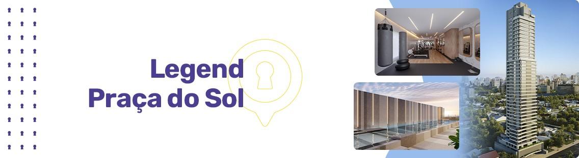 Apartamento à venda em Goiânia no Setor Oeste - Empreendimento Legend Praça do Sol da Construtora City - Fachada