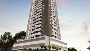 Apartamento à venda em Goiânia no Setor Leste Universitário - Empreendimento Arte Life da Construtora Arte Construtora - Fachada
