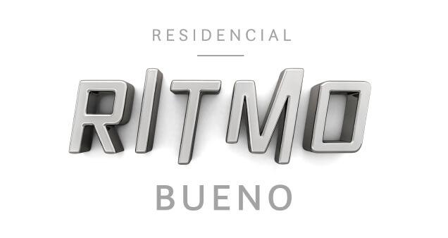 Logo do empreendimento Ritmo Bueno, da CMO construtora
