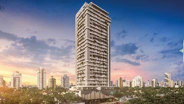 Apartamento à venda em Goiânia no Setor Bueno - Empreendimento Vox Home da Construtora Bambuí - Fachada