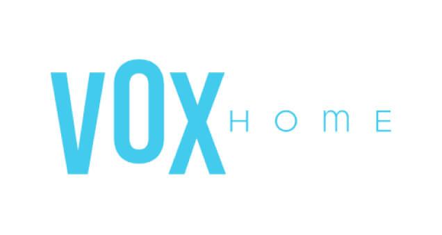 Logo do edifício Vox Home, da construtora Bambuí