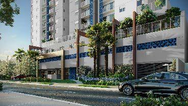 Apartamento à venda em Goiânia no Setor Aeroporto - Empreendimento Wish Aeroporto da Construtora EBM - Fachada