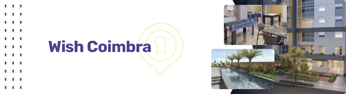 Apartamento à venda em Goiânia no Setor Coimbra - Empreendimento Wish Coimbra da Construtora EBM - Fachada