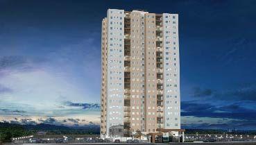 Apartamento à venda em Goiânia no Parque Oeste Industrial - Empreendimento Eldorado Parque - Tijuca da Construtora Eldorado Parque - Fachada