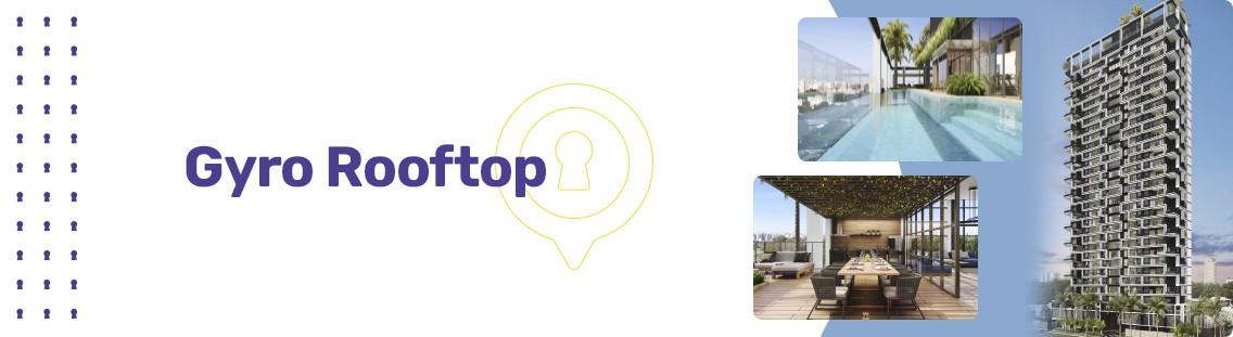 Apartamento à venda em Goiânia no Setor Marista - Empreendimento Gyro Rooftop da Construtora Opus - Fachada