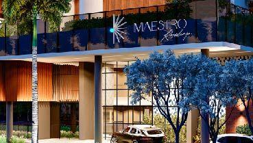 Apartamento à venda em Goiânia no Setor Oeste - Empreendimento Maestro Residenza da Construtora WV Maldi - Fachada