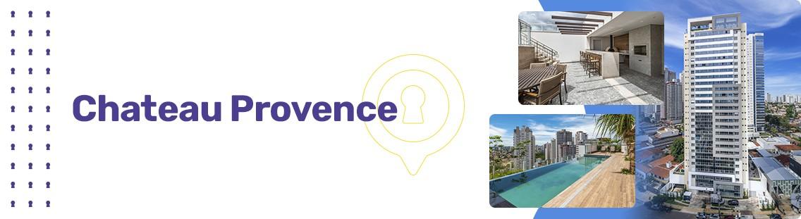 Apartamento à venda em Goiânia no Setor Marista - Empreendimento Chateau Provence da Construtora Grupo CF - Fachada