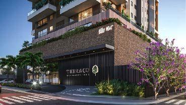 Apartamento à venda em Goiânia no Setor Marista - Empreendimento Terraço Bougainville da Construtora City - Fachada