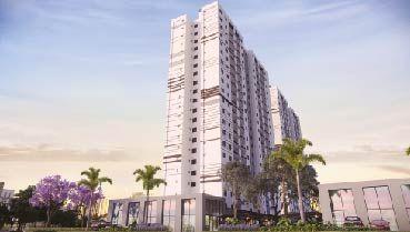 Apartamento à venda em Goiânia no Setor Crimeia Oeste - Empreendimento Distrito Goiás Norte da Construtora FR Incorporadora - Fachada