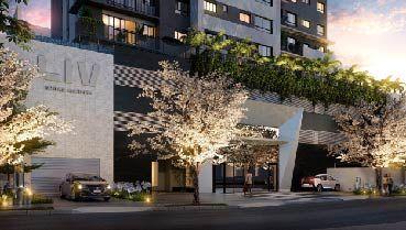 Apartamento à venda em Goiânia no Setor Marista - Empreendimento Liv Urban Marista da Construtora Partini - Fachada