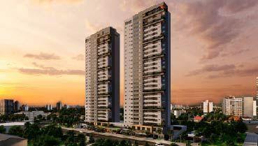 Apartamento à venda em Goiânia no Serrinha - Empreendimento Bliss Enjoy Life da Construtora Partini - Fachada