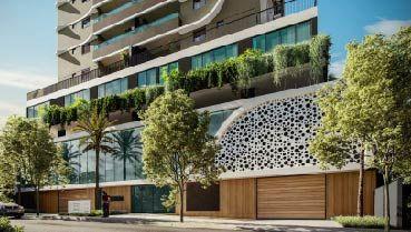 Apartamento à venda em Goiânia no Setor Marista - Empreendimento Atoll Residências da Construtora Sousa Andrade - Fachada