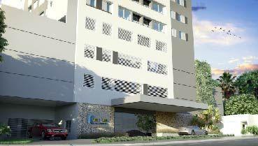 Apartamento à venda em Goiânia no Setor Central - Empreendimento Katedral Sky Rooftop da Construtora Sim Engenharia - Fachada
