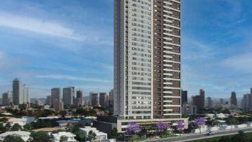 Apartamento à venda em Goiânia no Serrinha - Empreendimento Blume Apartments da Construtora Tapajós - Fachada (Card)