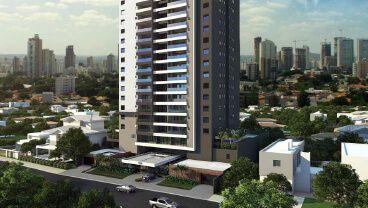 Apartamento à venda em Goiânia no Setor Bueno - Empreendimento Finest Bueno da Construtora Serca - Fachada (Card)