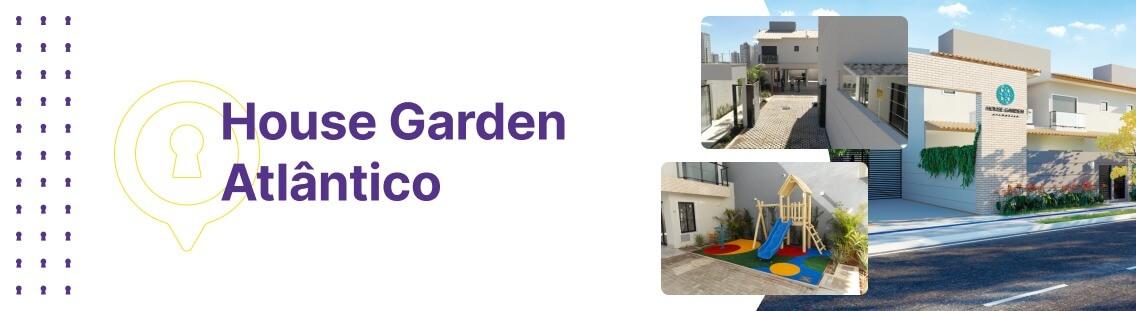 Apartamento à venda em Goiânia no Setor Jardim Atlântico - Sobrado House Garden Atântico da Construtora Áurea - Fachada (Capa Desktop)