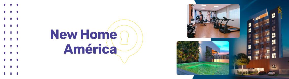 Apartamento à venda em Goiânia no Jardim América - Empreendimento New Home América da Construtora Áurea Engenharia - Fachada (Capa Desktop)