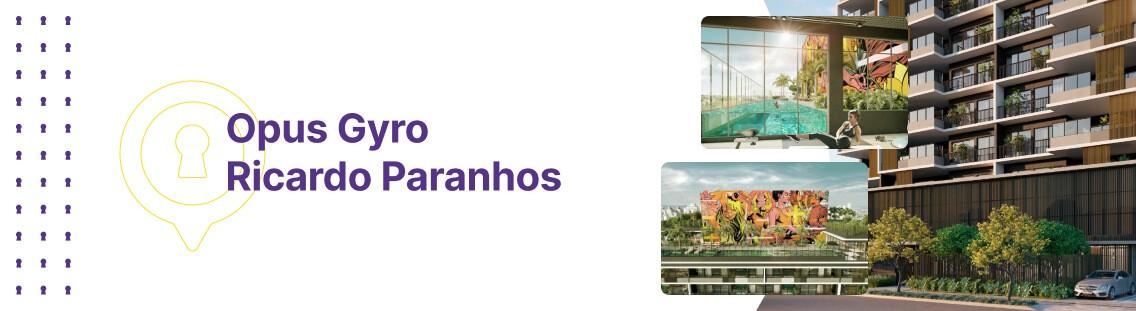 Apartamento à venda em Goiânia no Setor Marista - Empreendimento Gyro Ricardo Paranhos da Construtora Opus - Fachada (Capa Desktop)