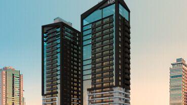 Apartamento à venda em Goiânia no Setor Oeste - Empreendimento Lux Oeste da Construtora Elmo - Fachada (Card)