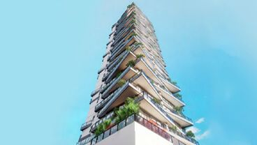 Apartamento à venda em Goiânia no Setor Marista - Empreendimento Ares Marista da Construtora Bambuí - Fachada (Card)