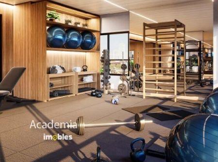 Apartamento à venda em Goiânia no Setor Marista - Empreendimento Ares Marista da Construtora Bambuí - Academia